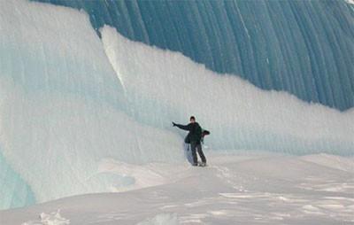 İşte Tsunaminin buz kestiği an