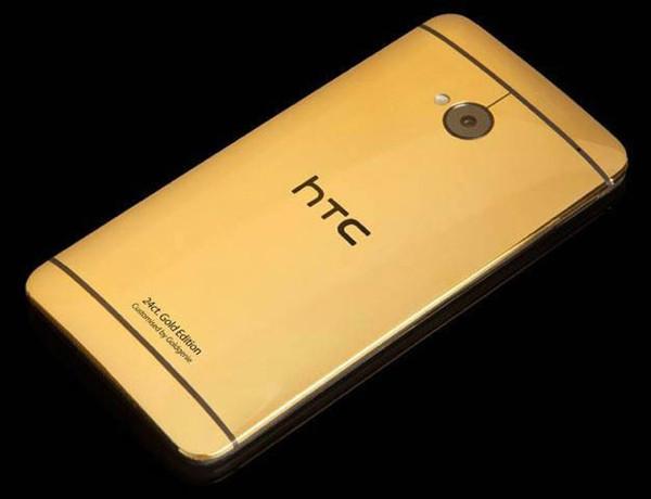 24 ayar altın HTC One görücüye çıktı