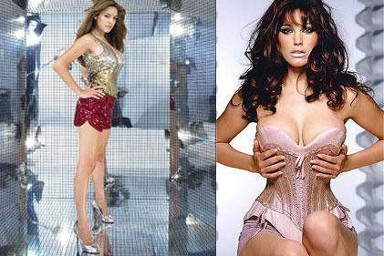 Kelly Brook striptiz öğrenmek istiyor