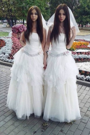 Bu evlilik Rusya'yı karıştırdı