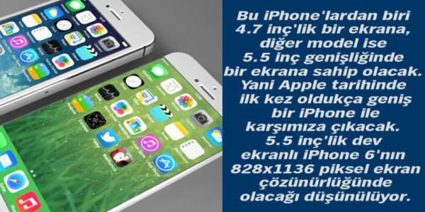 İşte iPhone 6 hakkındaki her şey!