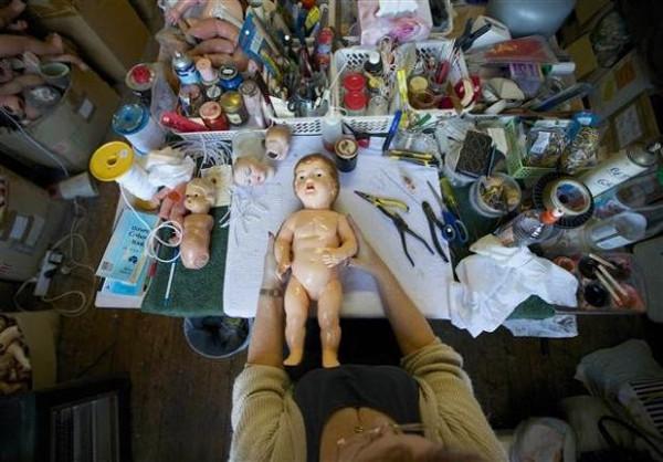 Oyuncak bebek hastanesi