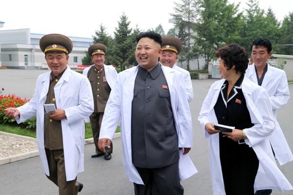 Kuzey Kore lideri çok neşeli