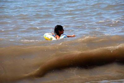 Deniz değil çamur deryası