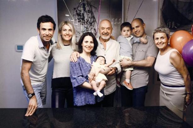 Erkan Yolaç'ın torun sevinci