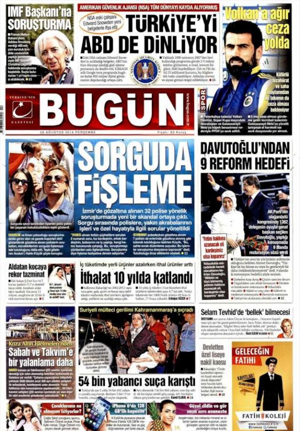AKP kongresini gazeteler böyle gördü