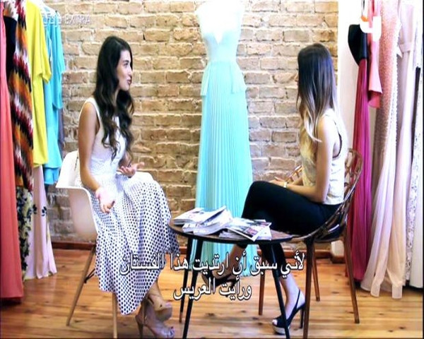 Aslıhan Güner MBC4 kanalındaki 'Turki Extra' programına konuk oldu