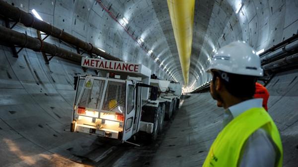 Avrasya Tüneli'nin 850 metresi delindi