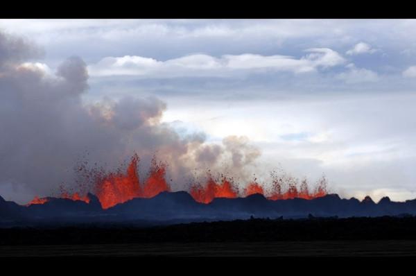 Ekvador'da volkan paniği