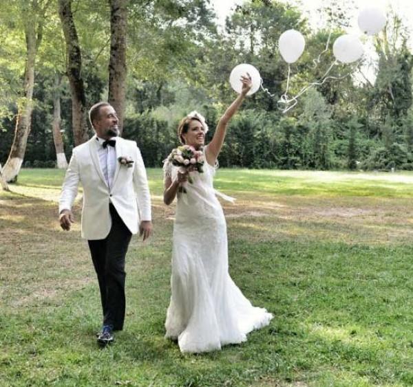 Doğa Rutkay ve Kerimcan Kamal evlendi