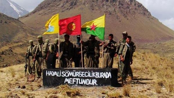 PKK'lılar ve HDP'liler Ağrı Dağı'nda!