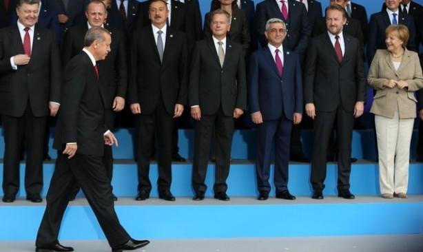Cumhurbaşkanı sıfatıyla ilk kez