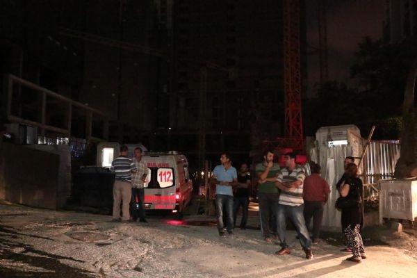 Mecidiyeköy'deki inşaatta asansör 32. kattan çakıldı!