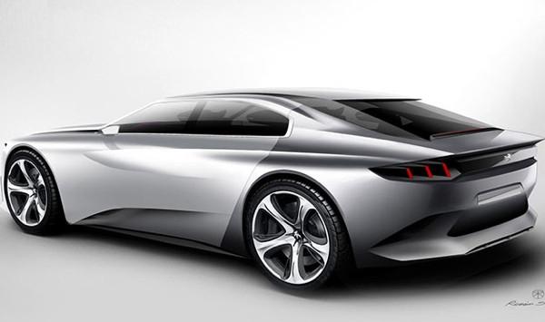 Peugeot EXALT vitrine çıktı!