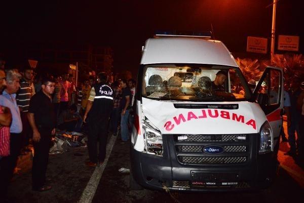 Ambulansın çarptığı genç öldü!