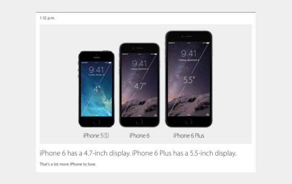 Apple, iPhone 6'yı tanıttı