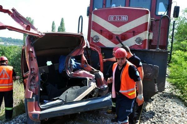 Soma'da tren kazası: 3 ölü