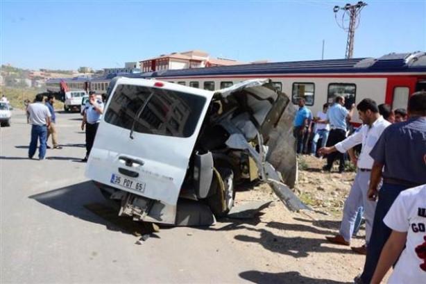 Batman'da tren kazası