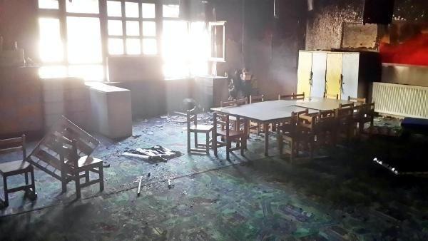 5 okula molotof ve ses bombalı saldırı!