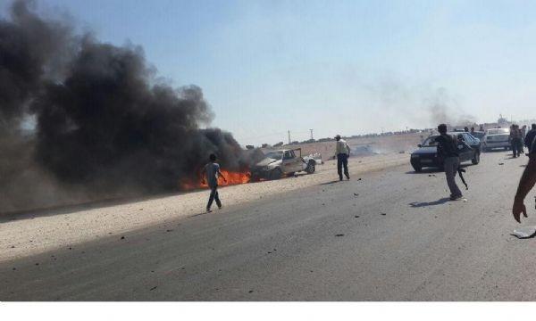 IŞİD'den bomba yüklü araçla saldırı!