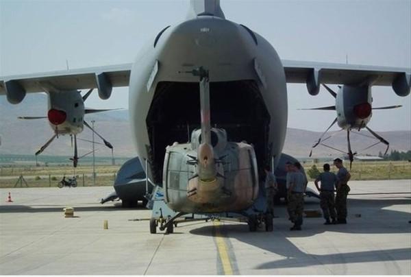 Atlas uçağı bir ilki gerçekleştirdi