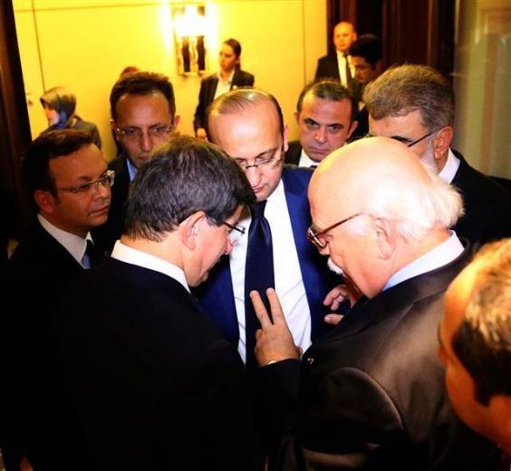 Başbakan Ahmet Davutoğlu'nun haberi aldığı an