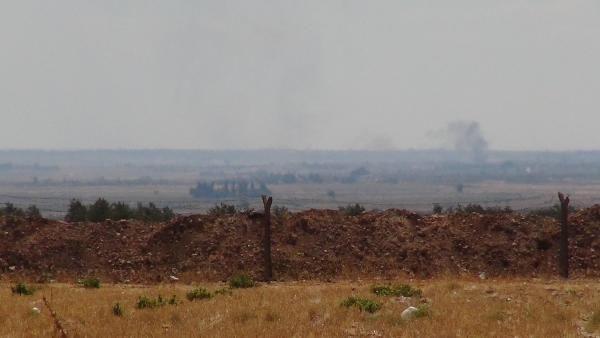 Suriye sınırında çatışma