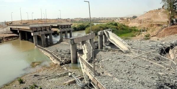 IŞİD'in ölüm yolu görüntüledi
