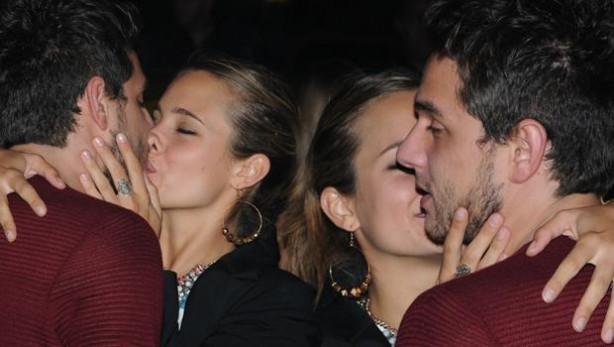 Sercan Badur ve sevgilisi Reina'daydı.