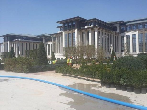'Başkanlık Sarayı'nda ilk görüntüler