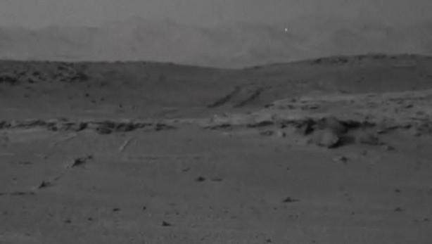 Curiosity'nin Mars'tan çektiği fotoğraflar