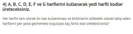 Türkiye Zeka Vakfı'nın çıldırtan soruları