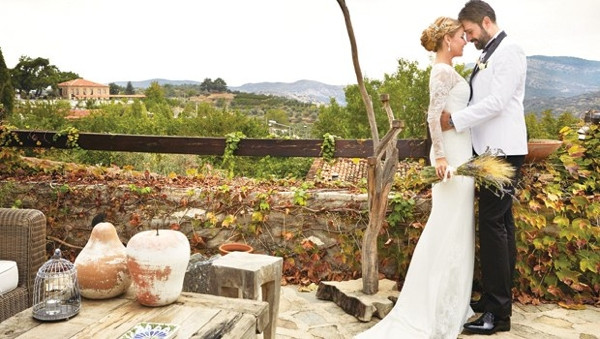 Gülben Ergen evlendi