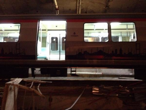 İstanbul'da metro kazası!