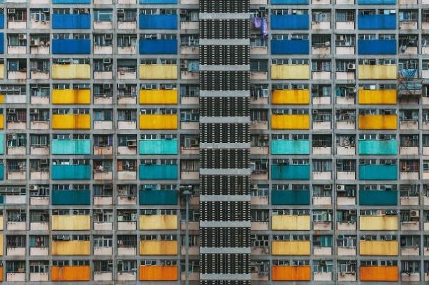 Hong Kong'un baş döndüren binaları