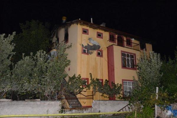 Yangın aile faciasına döndü: 4 ölü, 1 yaralı