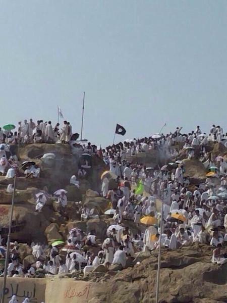 Kutsal topraklarda IŞİD bayrağı!