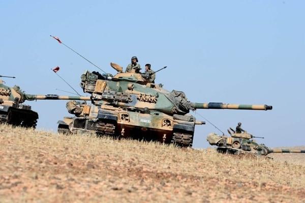 TSK tankları birliklerinden çıktı