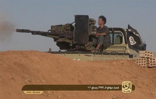 İşte IŞİD'in elindeki silahlar