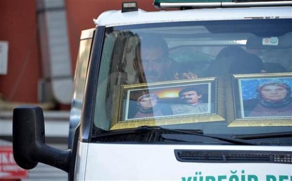 Öcalan'ın ablası Havva Keser toprağa verildi