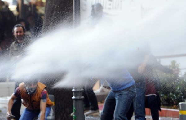 Ankara'da Kobani eylemi