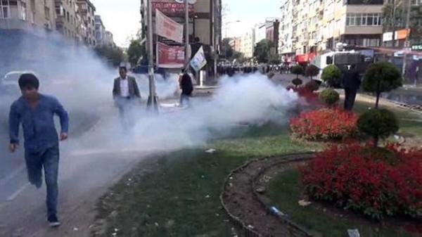 Bağcılar'da Kobani eylemi