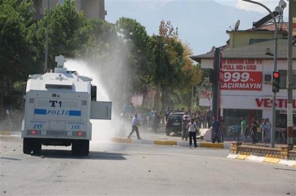Denizli'de Kobani eylemi