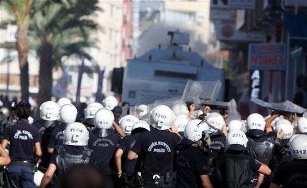 Antalya'da Kobani eylemi