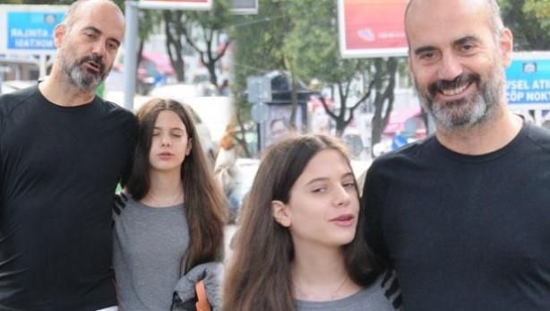 Eren Talu kızı Derin'le