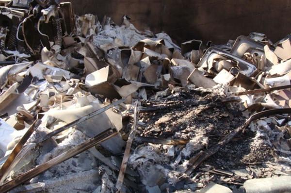Bediüzzaman Külliyesi inşaatını da yaktılar