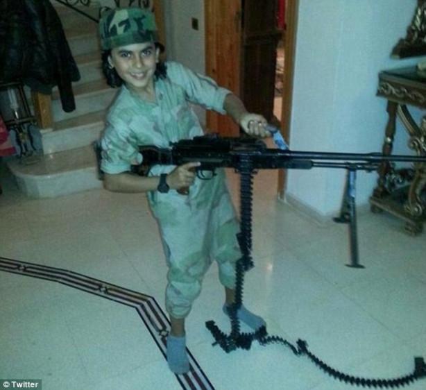 IŞİD'ten şok fotoğraf!