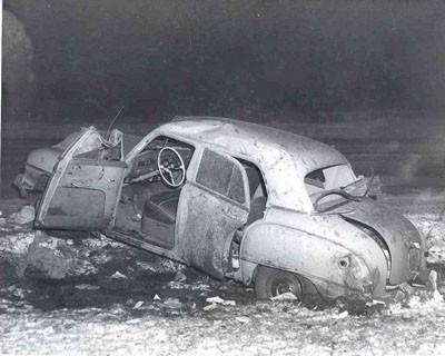 Bir zamanlar otomobil kazaları...