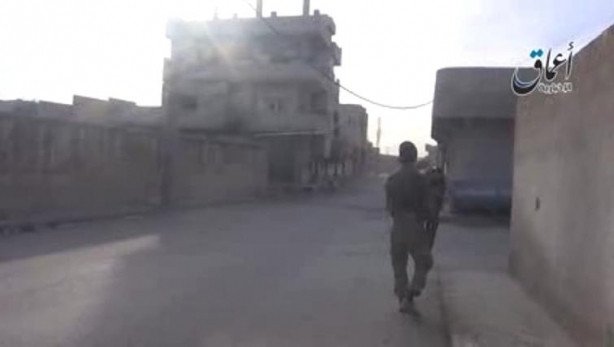 IŞİD Kobani fotoğraflarını paylaştı