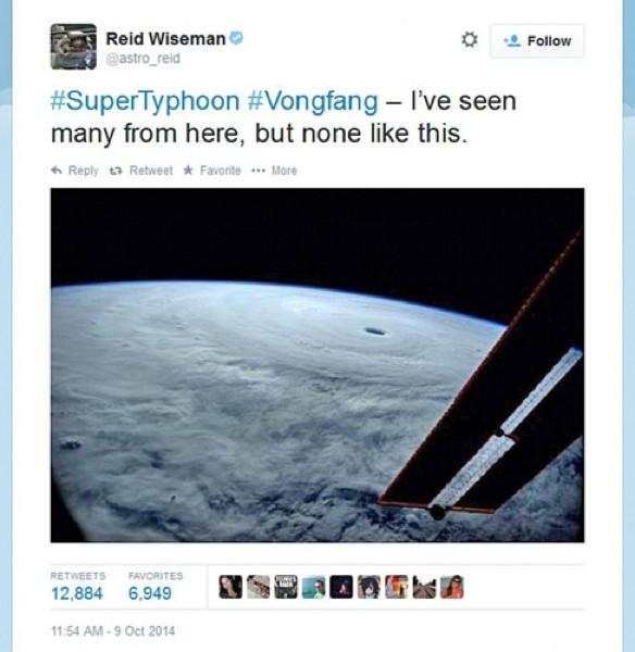 Astronotu şaşırtan görüntü